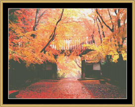 Autumn Alcove | Crafting | Cross-Stitch | Other