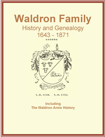 Waldron Family History and Genealogy | eBooks | History