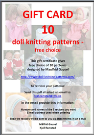 Gift Card 10 patterns | Other Files | Arts and Crafts