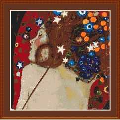 Klimt Sea Serpents | Other Files | Arts and Crafts