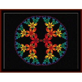 Fractal 160 cross stitch pattern by Cross Stitch Collectibles | Crafting | Cross-Stitch | Wall Hangings