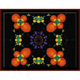 Fractal 163 cross stitch pattern by Cross Stitch Collectibles | Crafting | Cross-Stitch | Wall Hangings