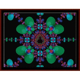 Fractal 177 cross stitch pattern by Cross Stitch Collectibles | Crafting | Cross-Stitch | Wall Hangings
