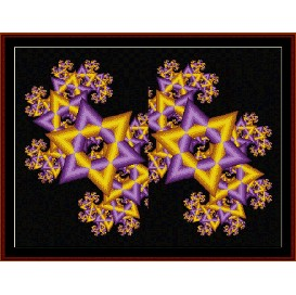 Fractal 179 cross stitch pattern by Cross Stitch Collectibles | Crafting | Cross-Stitch | Wall Hangings