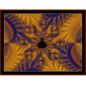 Fractal 189 cross stitch pattern by Cross Stitch Collectibles | Crafting | Cross-Stitch | Wall Hangings