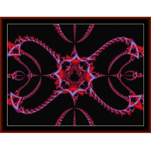 Fractal 190 cross stitch pattern by Cross Stitch Collectibles | Crafting | Cross-Stitch | Other