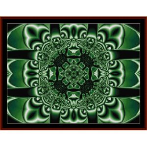 Fractal 197 cross stitch pattern by Cross Stitch Collectibles | Crafting | Cross-Stitch | Wall Hangings