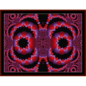 Fractal 198 cross stitch pattern by Cross Stitch Collectibles | Crafting | Cross-Stitch | Wall Hangings