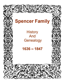 Spencer Family History and Genealogy | eBooks | History