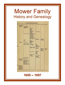 Mower Family History and Genealogy | eBooks | History