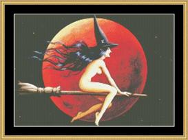 Fiery Moon - Maxine Gadd | Crafting | Cross-Stitch | Other