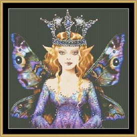 Queen Wisteria - Maxine Gadd | Crafting | Cross-Stitch | Other
