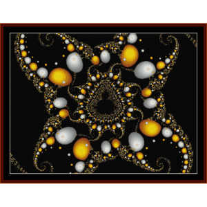 Fractal 202 cross stitch pattern by Cross Stitch Collectibles | Crafting | Cross-Stitch | Wall Hangings