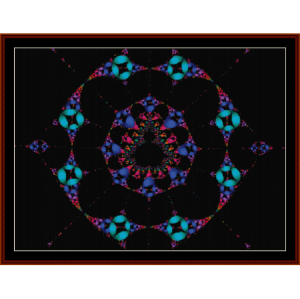 Fractal 215 cross stitch pattern by Cross Stitch Collectibles | Crafting | Cross-Stitch | Wall Hangings
