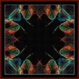 Fractal 238 cross stitch pattern by Cross Stitch Collectibles | Crafting | Cross-Stitch | Wall Hangings