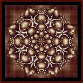 Fractal 239 cross stitch pattern by Cross Stitch Collectibles | Crafting | Cross-Stitch | Wall Hangings