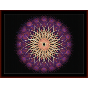 Fractal 244 cross stitch pattern by Cross Stitch Collectibles | Crafting | Cross-Stitch | Other