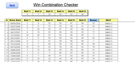 us wild card 2 lotto results checker premium excel xls spreadsheet