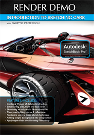 Digital Download- Patterson Vol-1 Introduction to Sketching Cars