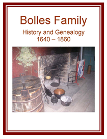 Bolles Family History and Genealogy | eBooks | History