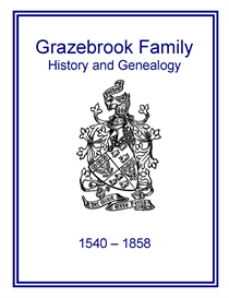 Grazebrook Family History and Genealogy | eBooks | History