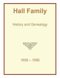 hall family history and genealogy