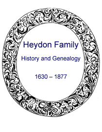 heydon family history and genealogy