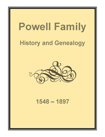 Powell Family History and Genealogy | eBooks | History