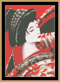 Kabuki - Maxine Gadd | Crafting | Cross-Stitch | Other