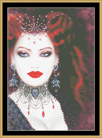 Vampire Red - Maxine Gadd | Crafting | Cross-Stitch | Other
