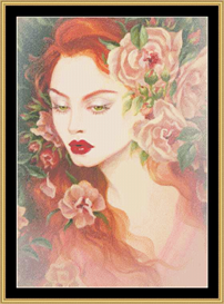 Musk Rose Ii - Maxine Gadd | Crafting | Cross-Stitch | Other