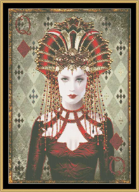 Queen Of Diamonds - Maxine Gadd | Crafting | Cross-Stitch | Other
