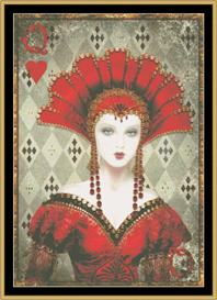 Queen Of Hearts - Maxine Gadd | Crafting | Cross-Stitch | Other
