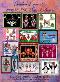 Beaded Legends 2009 POMC Pattern Collection | eBooks | Arts and Crafts