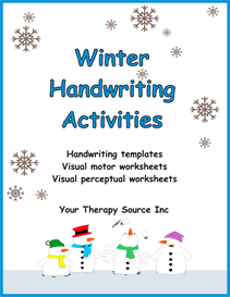 Winter Handwriting Activities | eBooks | Education