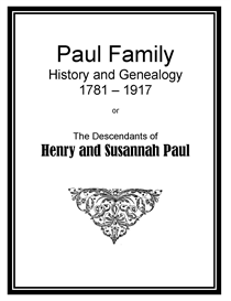 Paul Family History and Genealogy | eBooks | History