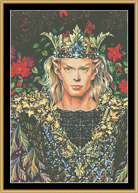 Elf King - Maxine Gadd   Crafting   Cross-Stitch   Other