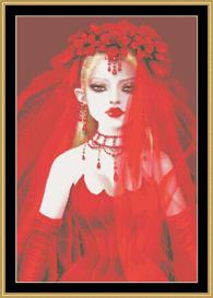 Vampire Bride - Maxine Gadd | Crafting | Cross-Stitch | Other