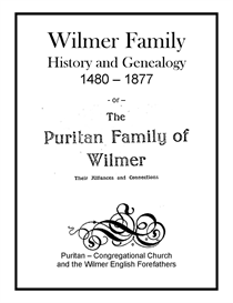 Wilmer Family History and Genealogy | eBooks | History