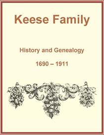 Keese Family History and Genealogy | eBooks | History