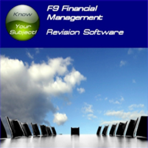 acca f9 financial management revision software (sti)