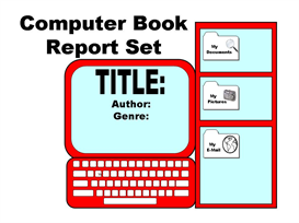 Computer Book Report Set | Other Files | Documents and Forms