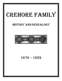 Crehore Family History and Genealogy | eBooks | History