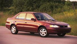 2000 Toyota Corolla MVMA Specifications | eBooks | Automotive