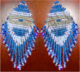 Layers of Sky and Sea Earrings | eBooks | Arts and Crafts