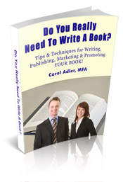 Do You Really Need to Write a Book? Tips & Techniques for Writing, Pub | eBooks | Self Help