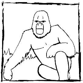Gorilla - photoshop | Other Files | Clip Art