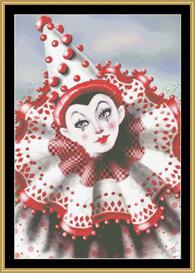 Fairground Clown | Crafting | Cross-Stitch | Other