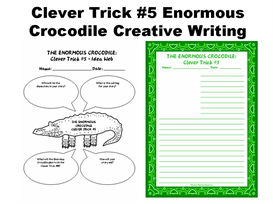 clever trick #5 enormous crocodile creative writing set
