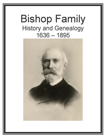 Bishop Family History and Genealogy | eBooks | History